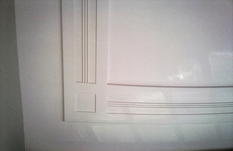 Art deco gipsplafond stucplafonds en gipsornament for Plafond sierlijst